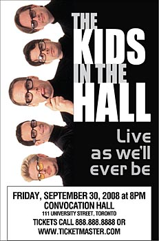 Kids in the Hall Tour